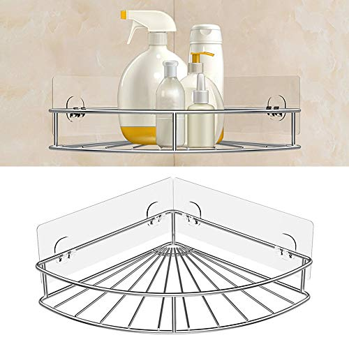 Gotian Storage Rack - Adjustable 5-Layer Metal Multi-Function Storage Shelves Assembly Rust-Proof Kitchen Rack with 5 Hooks for Kitchen, Living Room, Bedroom, Office, Garage