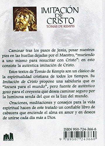 Imitacion de Cristo y Menosprecio del Mundo (Spanish Edition): Toms de Kempis, Tomas De Kempis: 9789507243660: Amazon.com: Books