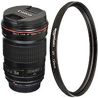 Canon 135mm f/2L USM Lens for SLR Cameras with UV Protection Lens Filter