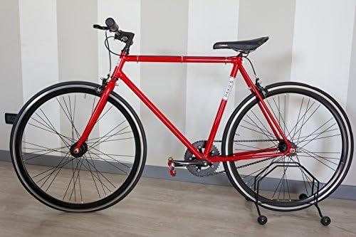 pako S Concept Bike Bicicleta Roja y piel negra: Amazon.es: Deportes y aire libre