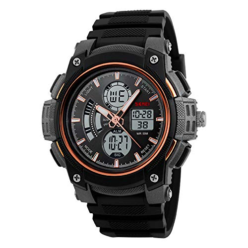 Skmei Analog Digital Multifunction Sports Watch For Men And Boys