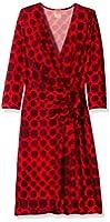 Anne Klein Women's Kabuki Wrap Dress