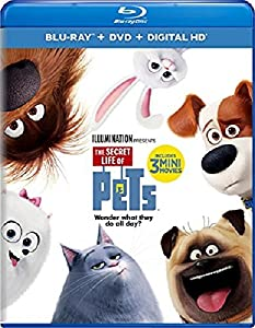 Cover Image for 'Secret Life of Pets, The [Blu-ray + DVD + Digital HD]'