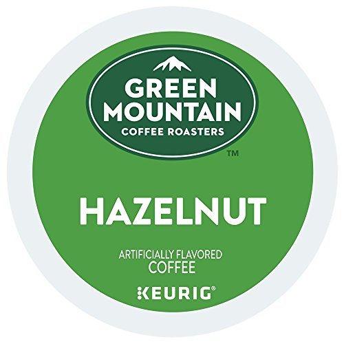Green Mountain Coffee Hazelnut K-cups for Keurig Brewers, 72 Count up