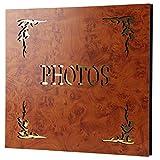 Retro Interstitial Photo Album | Memorial Album Can Store 360 Photos 6X4(4R/4D) (Color : Style#2, Size : 37X36.5X4cm)