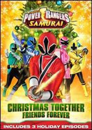 power rangers samurai christmas together friends forever dvd