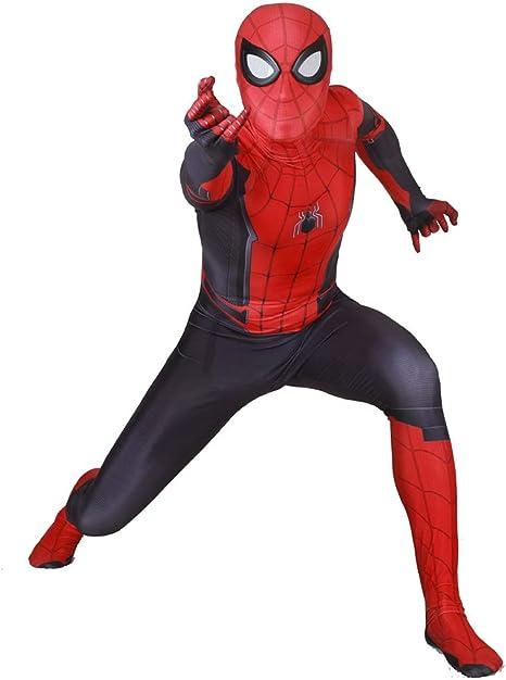 K-Flame Traje de Spiderman Adulto Cosplay Medias Disfraz de ...