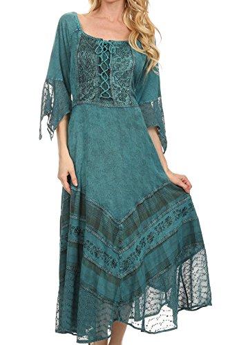 Buy bell sleeve dress plus size - 6