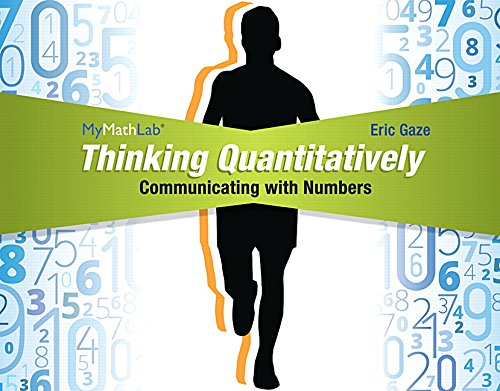 Thinking Quantitatively: Communicating with Numbers MML Access Code Card