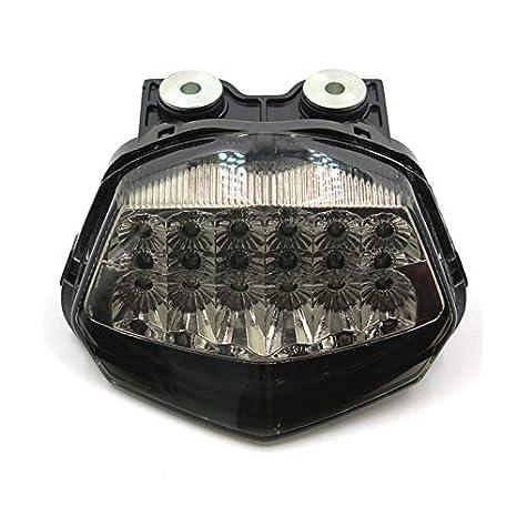 Amazon.com: Smoke Motorcycle LED Tail Light Brake Turn ...