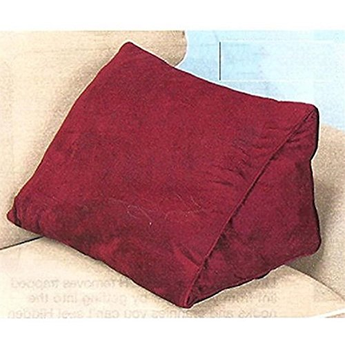 Micro-Suede-Wedge-Pillow-Burgundy