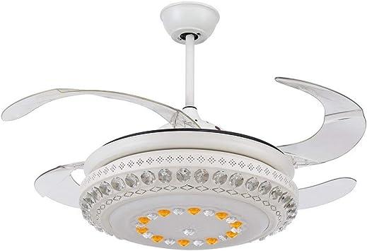 RS ventilador de techo de iluminación pulgadas potente romántico ...