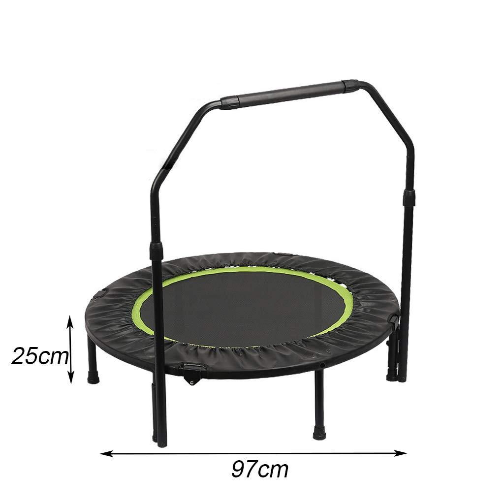WRRAC-Cama elástica Plegable Fitness Rebounder con Mango Ajustable ...