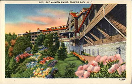 The Mayview Manor Blowing Rock, North Carolina Original Vintage Postcard by CardCow Vintage Postcards