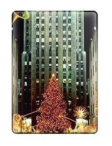 Hot Design Premium EYzreUU23605Tekzg Tpu Case Cover Ipad Air Protection Case(christmas Holiday Christmas)