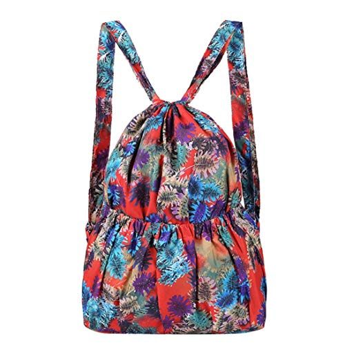 Women Gourd Bag A Bag Bag Travel Bag Shoulder YJYDADA Leisure Printed Large B Fashion Capacity wHqEX4xOY