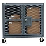 Durham Mesh Security Box Trucks - 60''Wx30''Dx57''H
