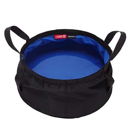 Portable Collapsible Outdoor Wash Fishing Camping Folding Basin Water Bucket