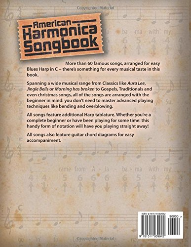 Amazon.com: American Harmonica Songbook: (Blues Harp in C ...