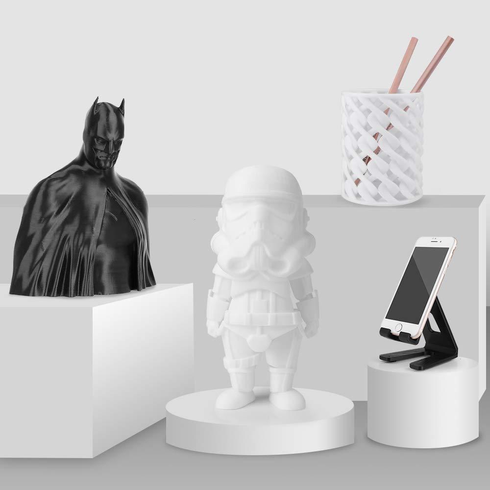 ELEGOO Filamento para Impresora 3D PLA, la precisión de +/-0,03 mm ...