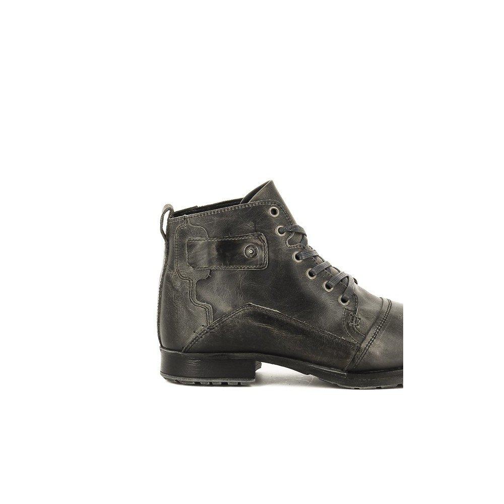 BULLBOXER B358-K5-0477A Zapatos De Cordones - Hombre Gris, EU 45 - Cordones 2be6e2