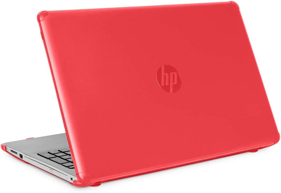 "mCover Hard Shell Case for 15.6"" HP 15-DA0000 Series (15-DA0000 to 15-DA9999) Notebook PC (NOT Fitting Other HP 15"" Pavilion or Envy laptops) - HP-15DA Red"