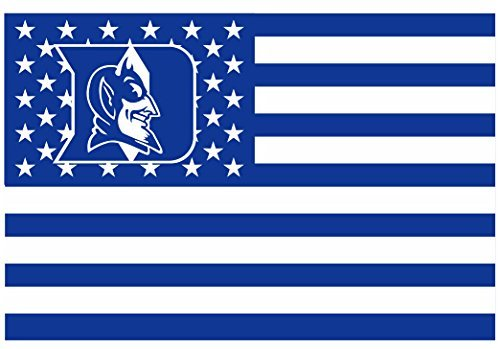 Duke Blue Devils 3x5FT Stars and Stripes Flag Devils-nation