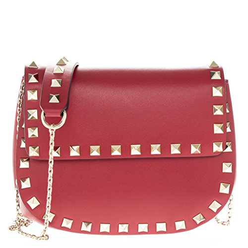 valentino-womens-rockstud-rounded-short-flap-smooth-bag-on-gold-chain-strap-red