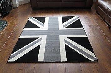 Tapis moderne passion nostalgique avec drapeau Grande-Bretagne ...