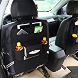 Auto Car Seat Back Storage Bag Travel Multi-Pocket Organizer Phone Holder Hanger