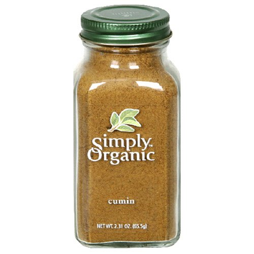 Simply Organic Cumin Seed Ground Certified Organic, 2.31-...