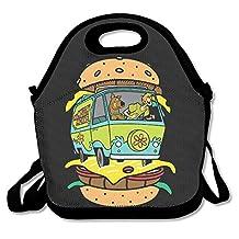 NaDeShop Scooby Doo Hamburger Lunch Bag Tote