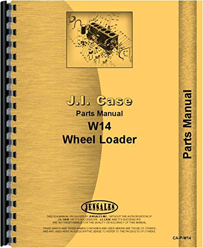 (Case W14H Wheel Loader Parts Manual (SN# 9119672 and Up))