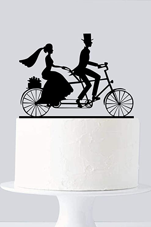 Decoración para tarta de bicicleta, decoración para tarta de ...
