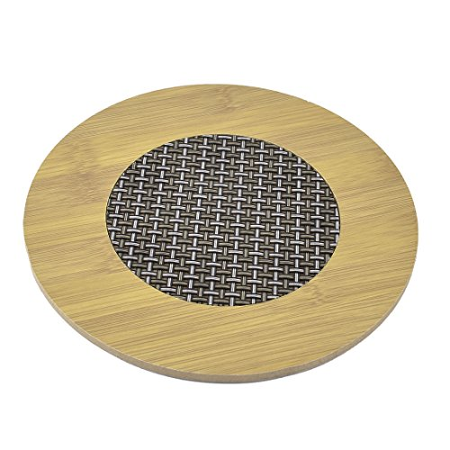 uxcell Round Kitchen Hot Pot Stand Bowl Pan Heat Resistant Mat Table (Hot Pot Stand)