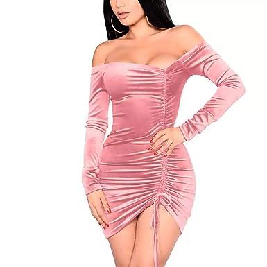 320a36e2c Vestidos De Mujer Sexys Pegados Al Cuerpo Ropa De Moda para Fiesta y Noche  Elegante Casuales