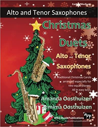Christmas Duets.Amazon Com Christmas Duets For Alto And Tenor Saxophones