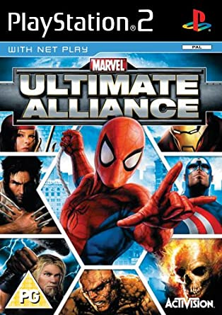 Marvel Ultimate Alliance (PS2): Amazon co uk: PC & Video Games
