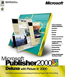 Microsoft Publisher Deluxe 2000