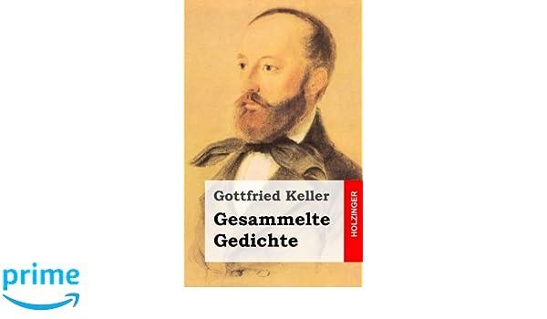 Gesammelte Gedichte German Edition Gottfried Keller