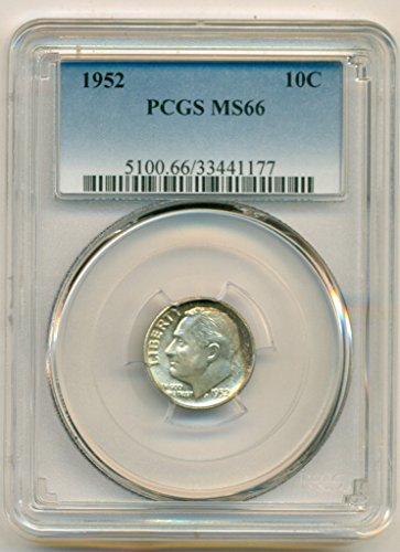 1952 Roosevelt Color Dime MS66 PCGS