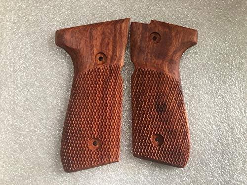 96 M9 Full Size Thai handmade New checkered hardwood Grip For Beretta Model 92