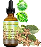 SACHA INCHI OIL ORGANIC. 100% Pure / Natural / Undiluted/ Virgin / Unrefined. 0.5 Fl.oz.- 15 ml. For Skin, Hair, Lip and Nail Care.