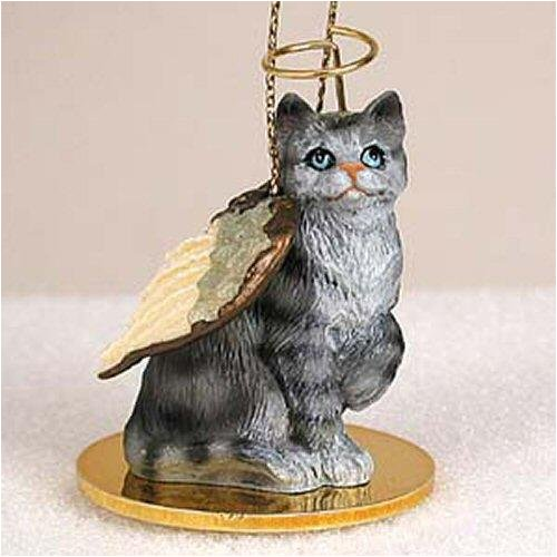 Conversation Concepts Shorthair, Silver Tabby Tiny Ones Cat Angel (2 in)
