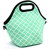 Orchidtent Neoprene Water Resistant Portable Lunch Bag...