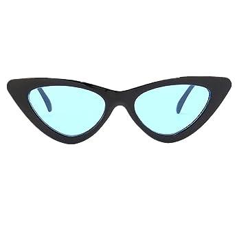 Jjliker Women Sexy Cat Eye Sunglasses Fashion Classic Plastic Frame One Piece Glasses Outdoor Travel Vacation Goggles by Jjliker Sunglass