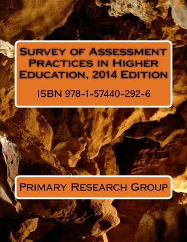 Survey of Assessment Practices in Higher Education, 2014 Edition