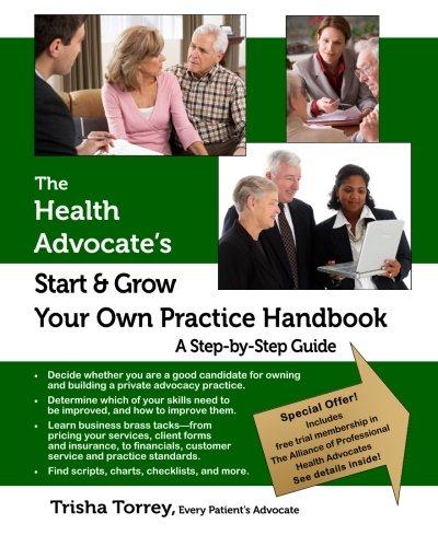 Best buy The Health Advocate's Start and Grow Your Own Practice Handbook: