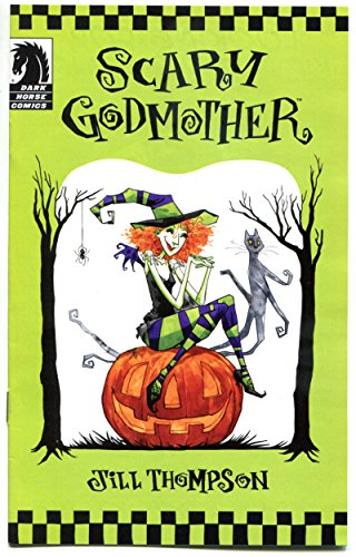 SCARY GODMOTHER, NM, Ashcan, Halloween, 2011, Jill Thompson,more Promos in store -