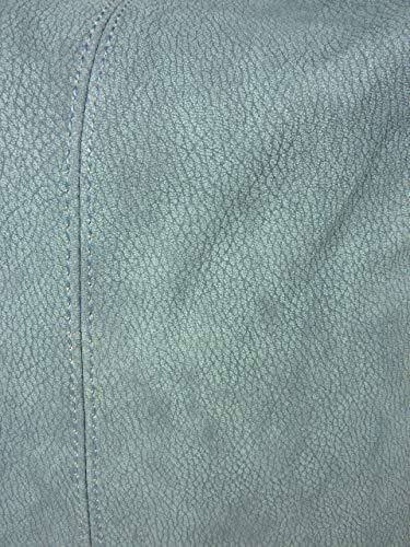 tela bags Blau Otra de more bolso amp; 8348 Mujer Jeansblau Piel de waXZq